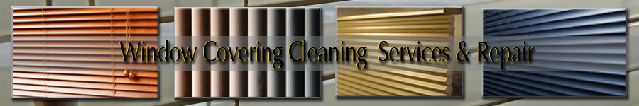 Window Covering Cleaning Services